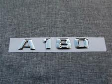 3D Chrome Rear Trunk Letters Number Emblem Emblems Badge for Mercedes Benz A180