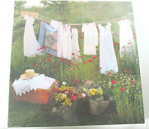 """Vtg New Springbok Puzzle Pretty Things Laundry Line Christening Gowns 20"""" x 20"""""""