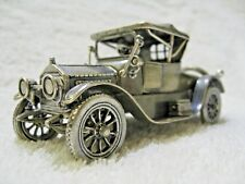 Franklin Mint Sterling Silver 1913 Cadillac Coupe Silver Car Miniature