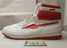 Vintage Hi-Top Avia 655 Men's Basketball Shoe size 18 Red/white 80's 90's