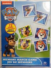 New Nickelodeon - Paw Patrol  Memory Match Game by Spin Master