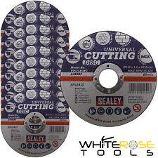 Sealey Multipurpose Cutting Slitting Disc 115mm x 1.6mm Inox Aluminium UPVC
