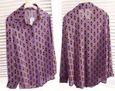 Women's Casual Print Chiffon Shirt Tops & Blouses