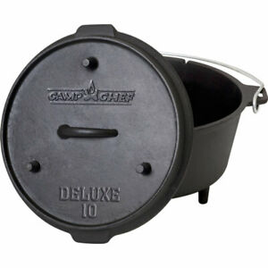 """Camp Chef 10"""" DELUXE Dutch Oven"""