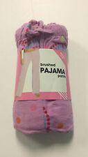 Brushed Pajama Pants, Size Small (4-6)