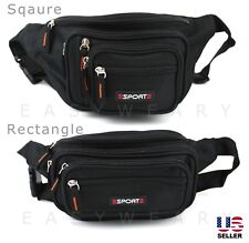 Fanny Pack Mens Womens Waist Hip Belt Bag Purse Pouch Pocket Travel Sport Bum