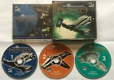 Wing Commander Prophecy PC CD-ROM Game 3 discs Jewel Case Version