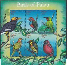 Palau 2001 Uccelli (I) 1699-1704 mnh
