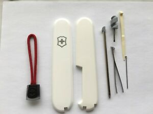 SWISS ARMY KNIFE VICTORINOX 91mm SCALES/HANDLES  PLUS WITH ACCESSORIES, PARTS