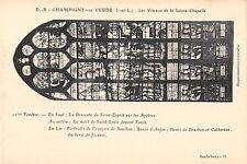 BF6291 champigny sur veude les vitraux de la sainte ch france    5