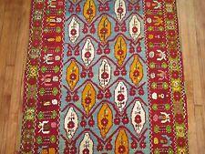 Antique Turkish Oushak Ushak Melas Mudjur Rug Size 3'7''X13'6''