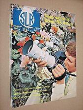 SLR CAMERA. JUNE 1970. VINTAGE PHOTOGRAPHY MAGAZINE.
