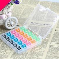 25 Kunststoff Farbe Random Home Spulen für PFAFF Nähmaschinen Mutters Geschenk P