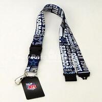NFL Dallas Cowboys Lanyard Keychain Key Ring ID Holder Llavero Dallas Cowboys