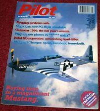Pilot 1996 March Jodel,DC-3,P-51