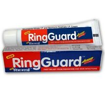 4 PACK Ring Guard Jock Itch Double Action Anti-Fungal Cream Ringworm 20 GRAMS EA