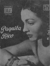 Coleccion Idolos del Cine N° 9/1958 - Paquita Rico