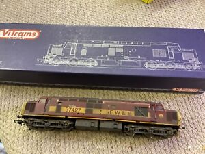VITRAINS 'OO' GAUGE 2019 EW&S CLASS 37 DIESEL LOCO 37427 BOXED DCC Installed 37