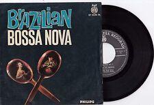 BRAZILIAN BOSSA NOVA OSWALDO BORBA BRASILIANA NO1 7' EP 45 RPM RECORD YUGOSLAVIA