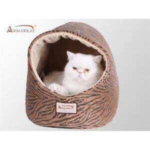 AeroMark C11HBW-MH Armarkat Cat Bed Bronzing and Beige C11HBW-MH