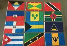 Flags of the Caribbean, Antigua and Barbuda, Bahamas, Barbados, Cuba, Haiti...