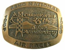 Vtg Reno National Air Races 1964 1988 25th Anniversary Nevada Pilot Airplane Big
