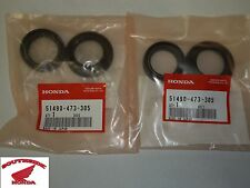 GENUINE HONDA FRONT FORK SEAL SET OF 2 ATC200X ATC250ES ATC250SX CMX250 REBEL