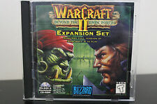 Warcraft II: Beyond the Dark Portal  (PC, 1996) *Tested/Complete Jewel Case
