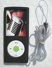 Silicone Case/skin for iPod Nano 4th Gen,4G + neck strap GEAR4