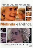 DVD Melinda e Melinda Woody Allen Film Commedia Cinema Video Movie