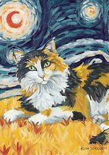 NEW TOLAND PAW PALETTES GARDEN FLAG VAN MEOW CALICO KITTY CAT  12.5 x 18