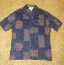 Men's Large Tropico Hawaiian  Buttoned Front Collard Shirt