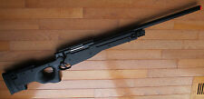 Well MB01 Super Airsoft Bolt Action Sniper Rifle L96 Style Up to 500 FPS Black