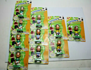 Collectible Soccer Headz Super Bobbin' Action  Full Set Of 10 New in box