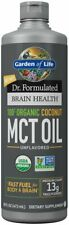 Dr. Formulated Brain Health Organic Coconut MCT Oil, Garden of Life, 16 oz