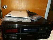 NAKAMICHI CDC-300 - 200 DISC CD CHANGER w/ Remote and Manual - TESTED