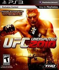 UFC Undisputed 2010 PS3 NEW! FIGHT MARTIAL ARTS, MMA COMBAT PRIDE, KARATE