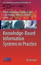 Knowledge-Based Information Systems in Practice (Smart Innovation, Systems and T