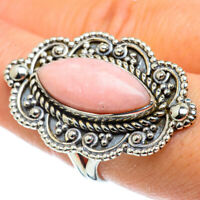 Large Pink Opal 925 Sterling Silver Ring Size 8.25 Ana Co Jewelry R43480F