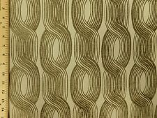 Designtex Porte Alabaster Large Geometric Raised Chain Stripe Upholstery Fabric