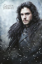 GAME OF THRONES JON SNOW 24x36 poster HBO TV SEASON 6 NIGHT'S WATCH WINTERFELL!!