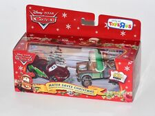 Disney Pixar Cars Mater Saves Christmas Santa McQueen 2 Pack Toys R Us Exclusive
