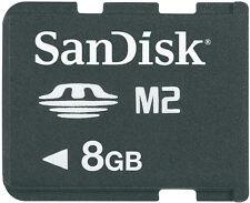 Original SanDisk Memory Stick Micro M2 8GB für Sony PSP GO BLITZVERSAND✔ (161)