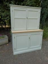 Pine dresser, antique, French Grey.