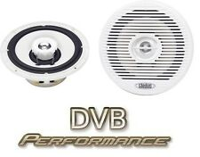 """Clarion CM-1625 6.5"""" White 2 Way Marine Coaxial Speakers Boat Yatch HotTub"""