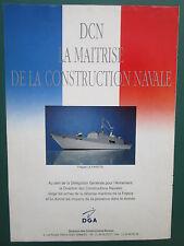 1992 PUB DCN DGA SHIPBUILDING CONSTRUCTION NAVALE FREGATE LA FAYETTE FRIGATE AD