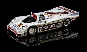 Quartzo Porsche 962C #17 - Larrauri / Gouhier - 2nd Le Mans 1986 - 1/43