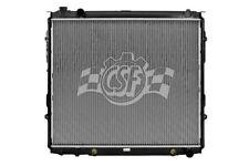 Radiator-1 Row Plastic Tank Aluminum Core CSF 3238