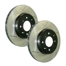 335mm BRAKENETIC PREMIUM Cross DRILLED Brake Rotors BNP65146.CD FRONT SET