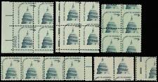 1591 Misperforated Error Group of 20 Stamps - 9¢ Capital - Mnh - Stuart Katz